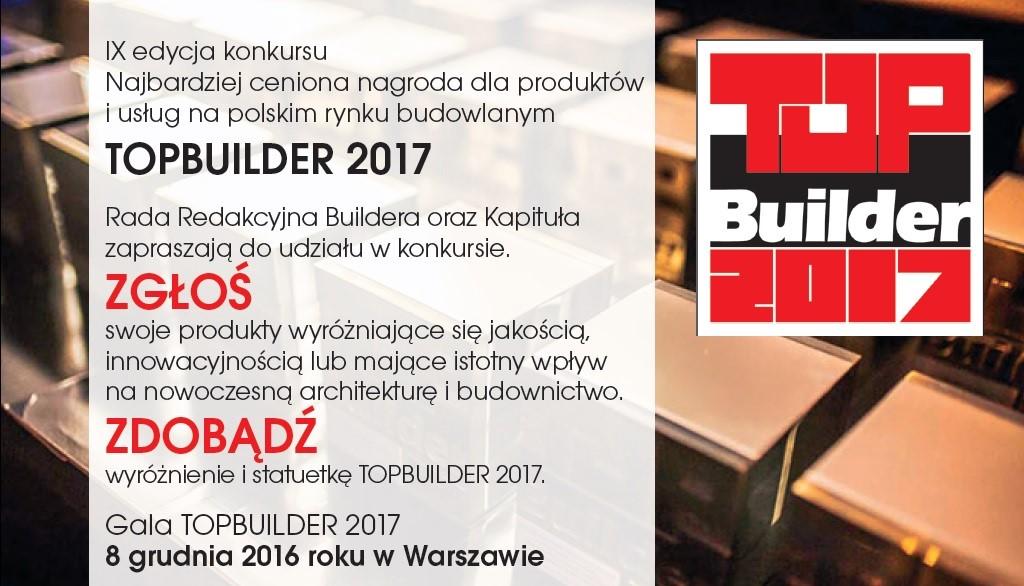KONKURS TOPBUILDER 2017