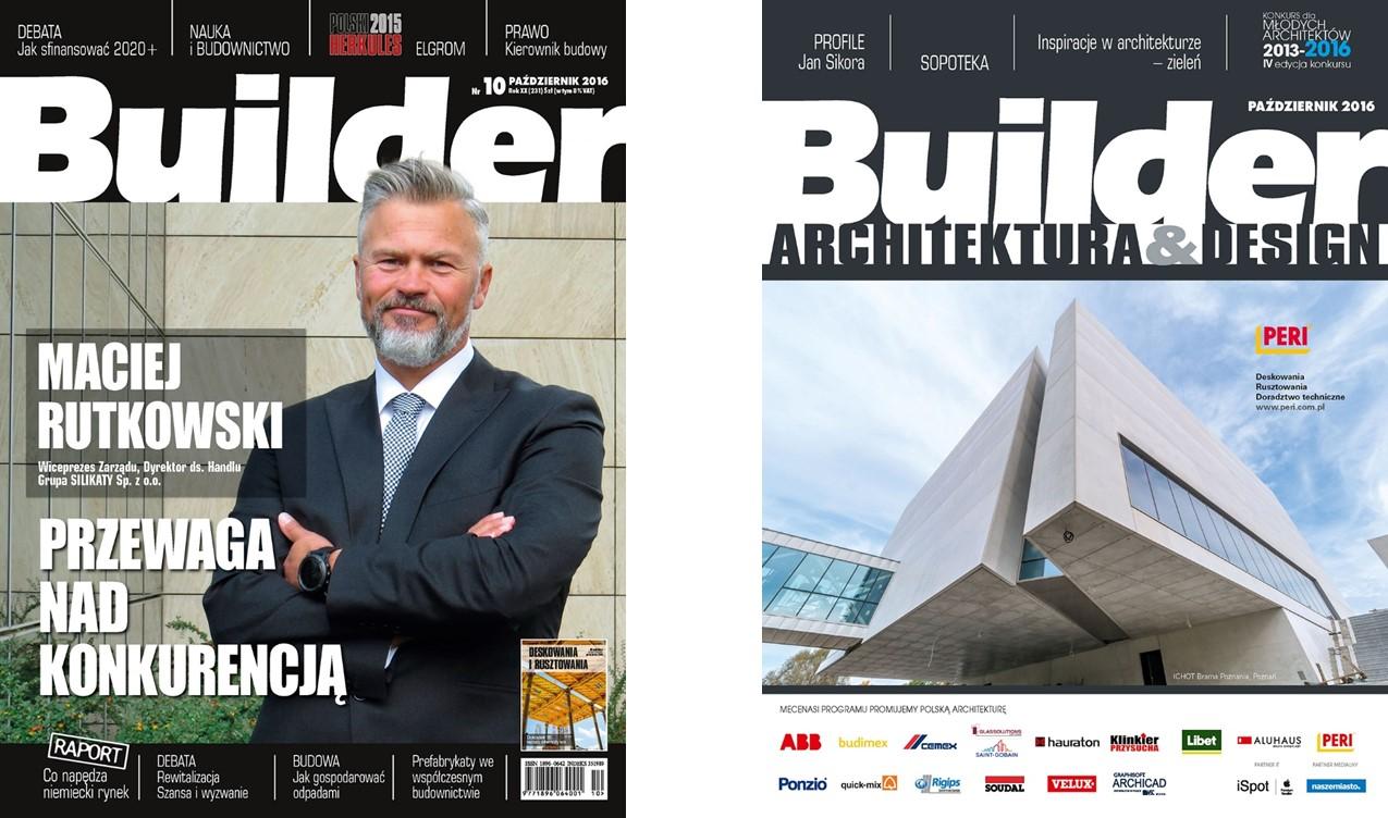 BUILDER – PAŹDZIERNIK 2016