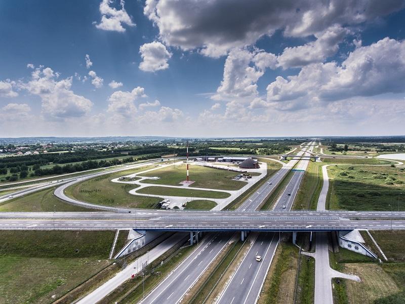 Autostrada A4 odcinek węzeł Rzeszów Zachód - węzeł Rzeszów Centralny