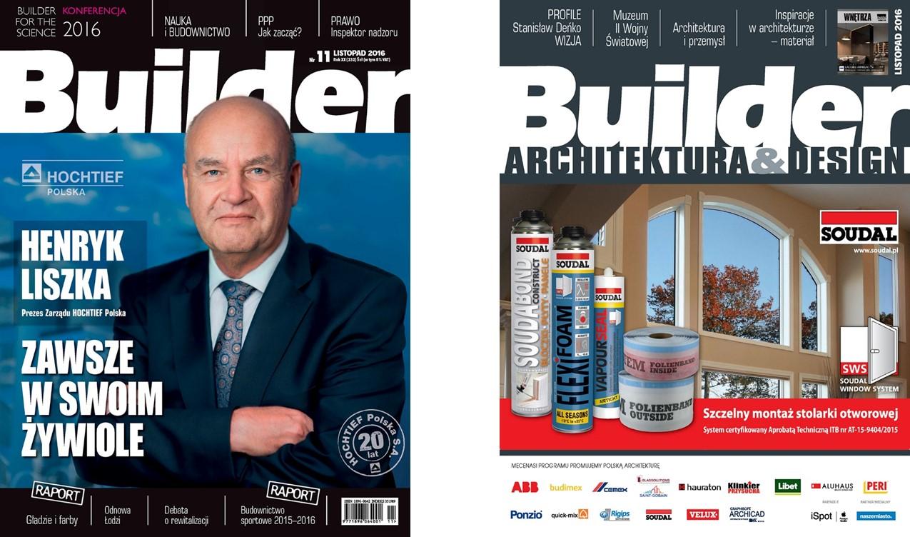 BUILDER – LISTOPAD 2016