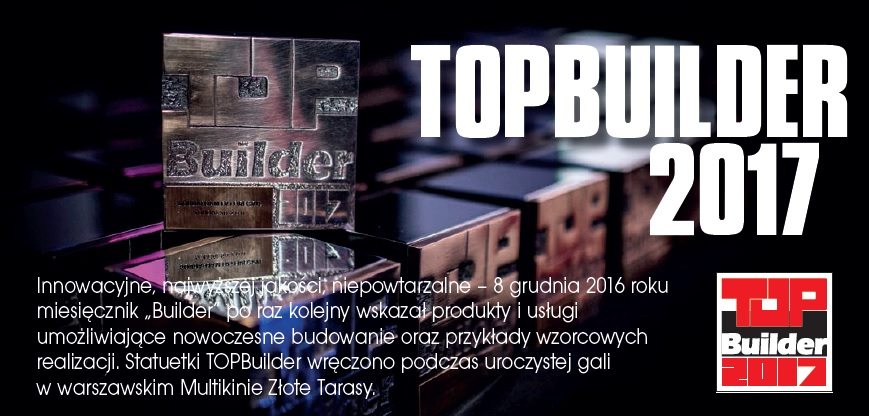TOPBUILDER 2017 – LAUREACI