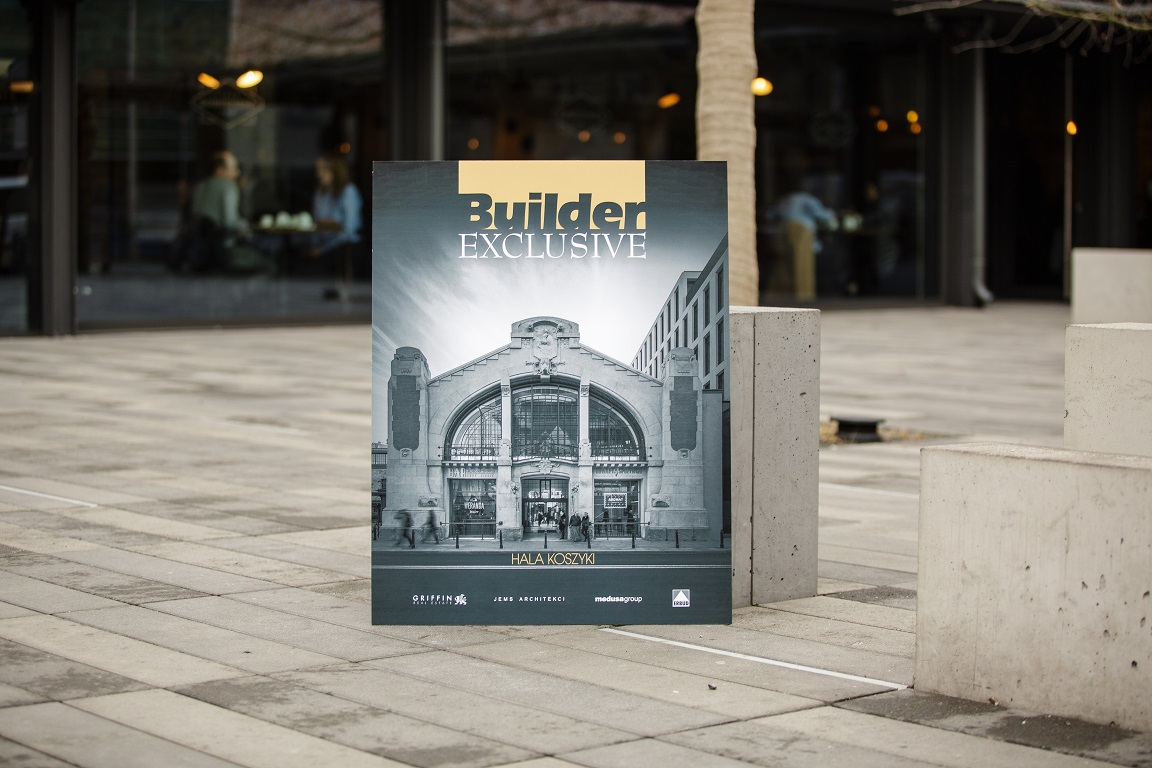EXCLUSIVE ART NOUVEAU REVIVAL. THE BUILDER EXCLUSIVE WILL DESCRIBE THE 'KOSZYKI' MARKET HALL IN WARSAW.