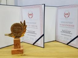 Nagroda i wyróżnienie dla firmy Bema-Res