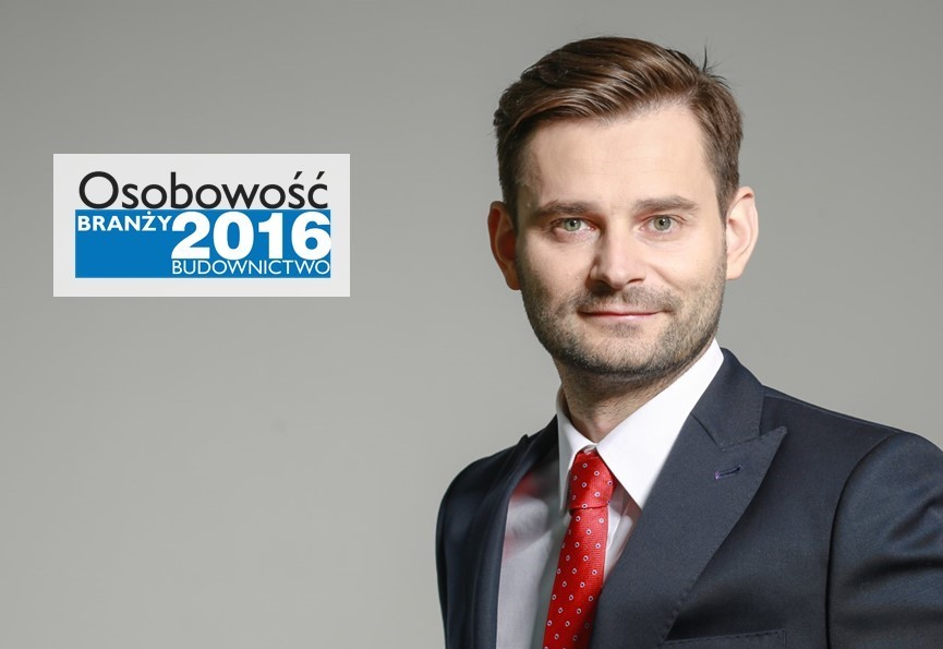 PAWEŁ BĄK – OSOBOWOŚĆ BRANŻY 2016