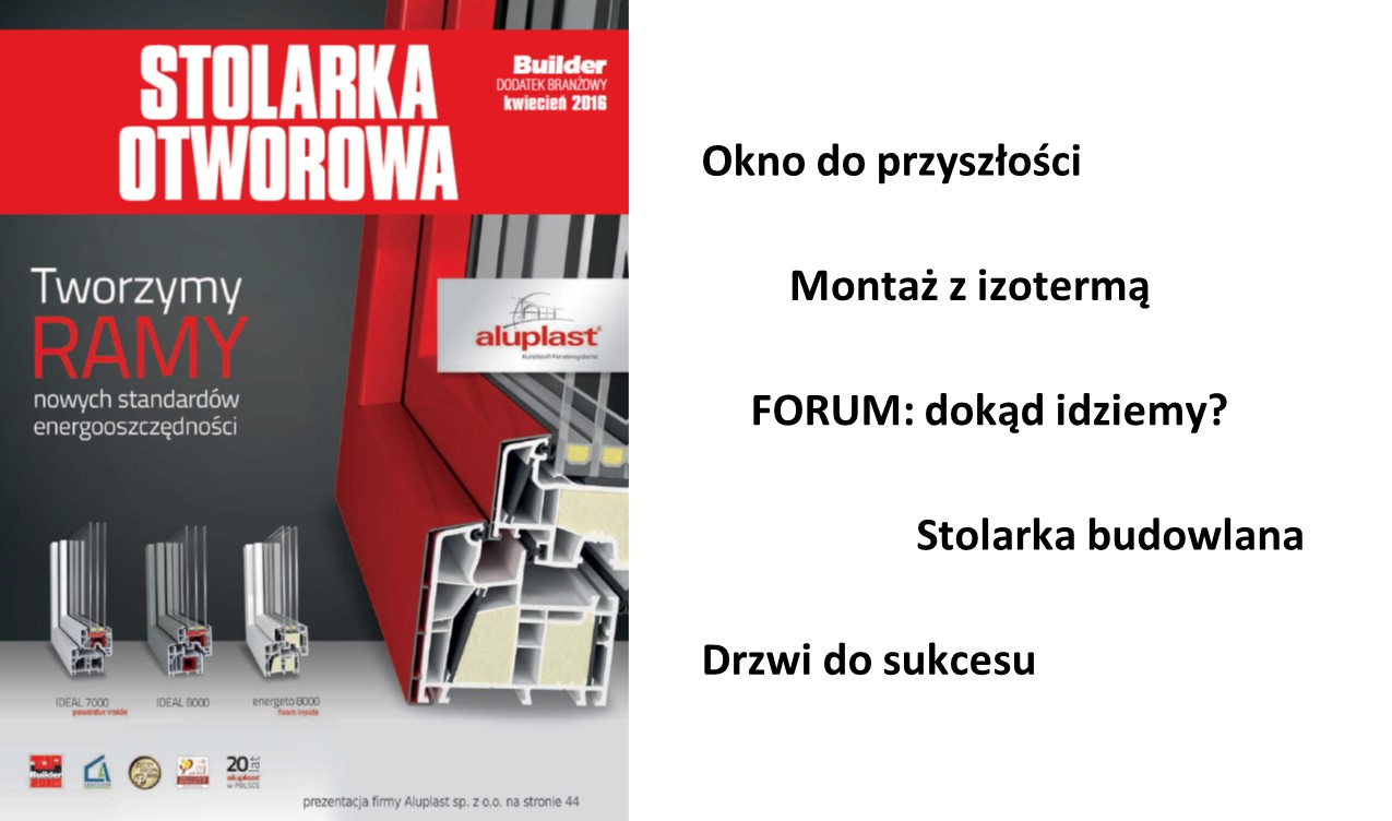 BUILDER – DODATEK BRANŻOWY – KWIECIEŃ 2016