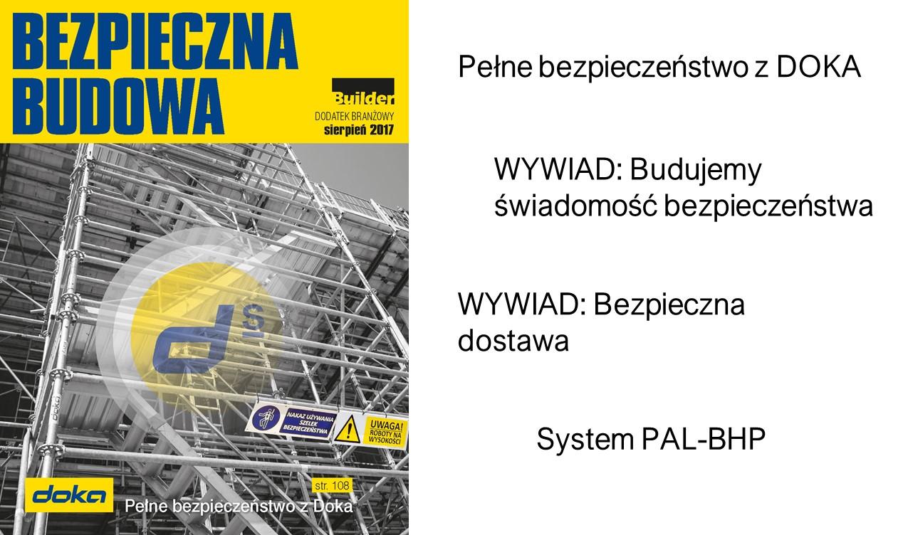 BUILDER – DODATEK BRANŻOWY – SIERPIEŃ 2017