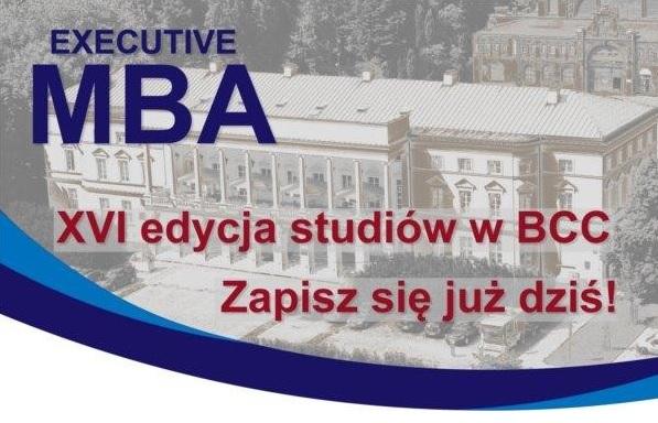 XVI EDYCJA STUDIÓW MBA W BCC – REKRUTACJA TRWA!