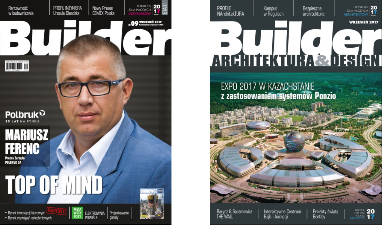 BUILDER – WRZESIEŃ 2017
