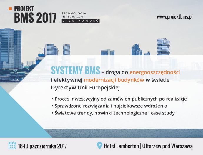 OGÓLNOPOLSKA KONFERENCJA PROJEKT BMS 2017