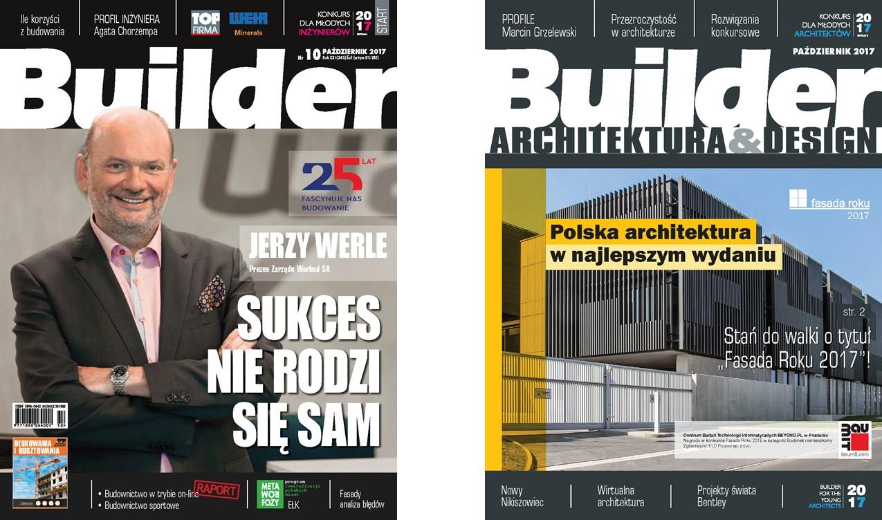 BUILDER – PAŹDZIERNIK 2017