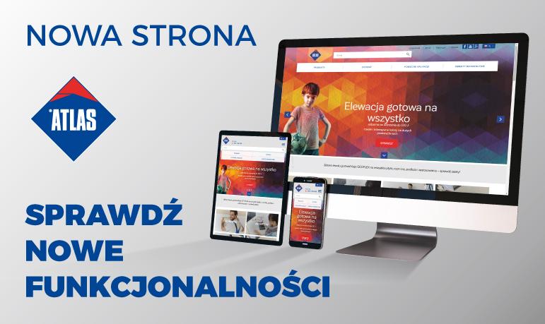 NOWA ODSŁONA STRONY WWW.ATLAS.COM.PL
