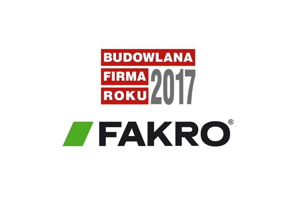FAKRO – BUDOWLANA FIRMA ROKU 2017