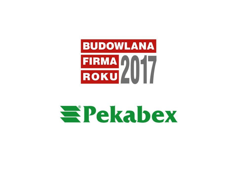 PEKABEX BET S.A. – BUDOWLANA FIRMA ROKU 2017
