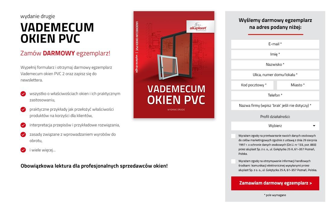 """KSIĄŻKA """"VADEMECUM OKIEN PVC 2"""" – PROFESJONALNIE O OKNACH"""