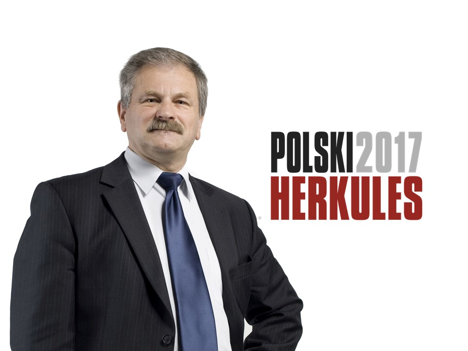 PROF. DR HAB. INŻ. JERZY HOŁA – POLSKI HERKULES 2017