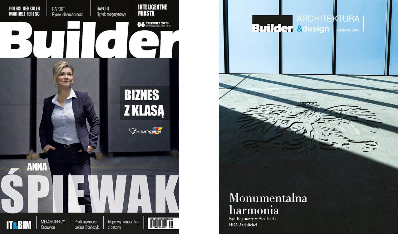 BUILDER – CZERWIEC 2018
