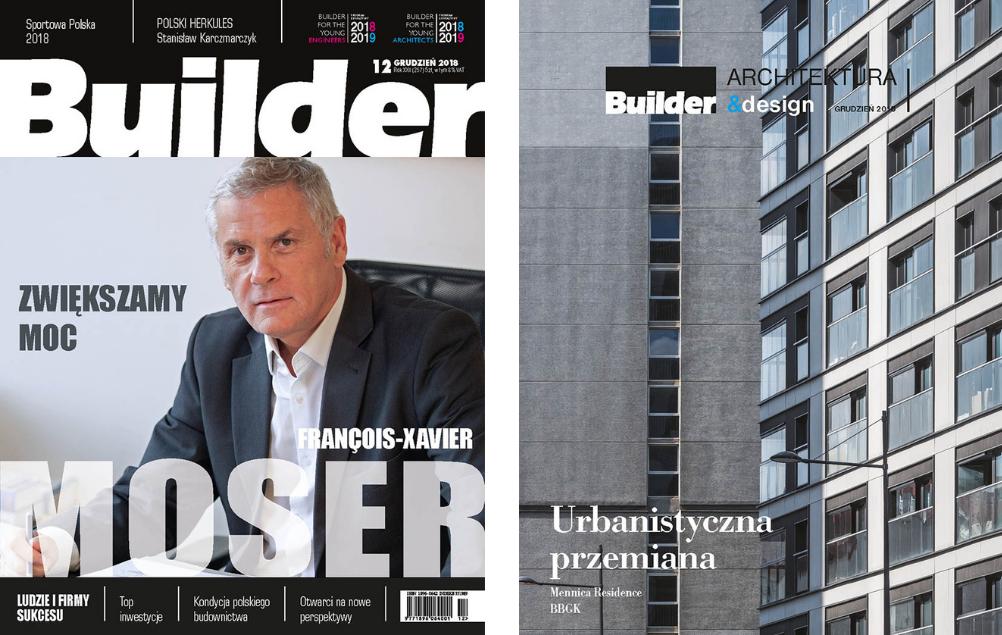 BUILDER – GRUDZIEŃ 2018
