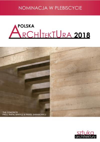 GŁOSUJCIE NA THE CONCRETE BARYCZA I SARAMOWICZA W PLEBISCYCIE POLSKA ARCHITEKTURA XXL