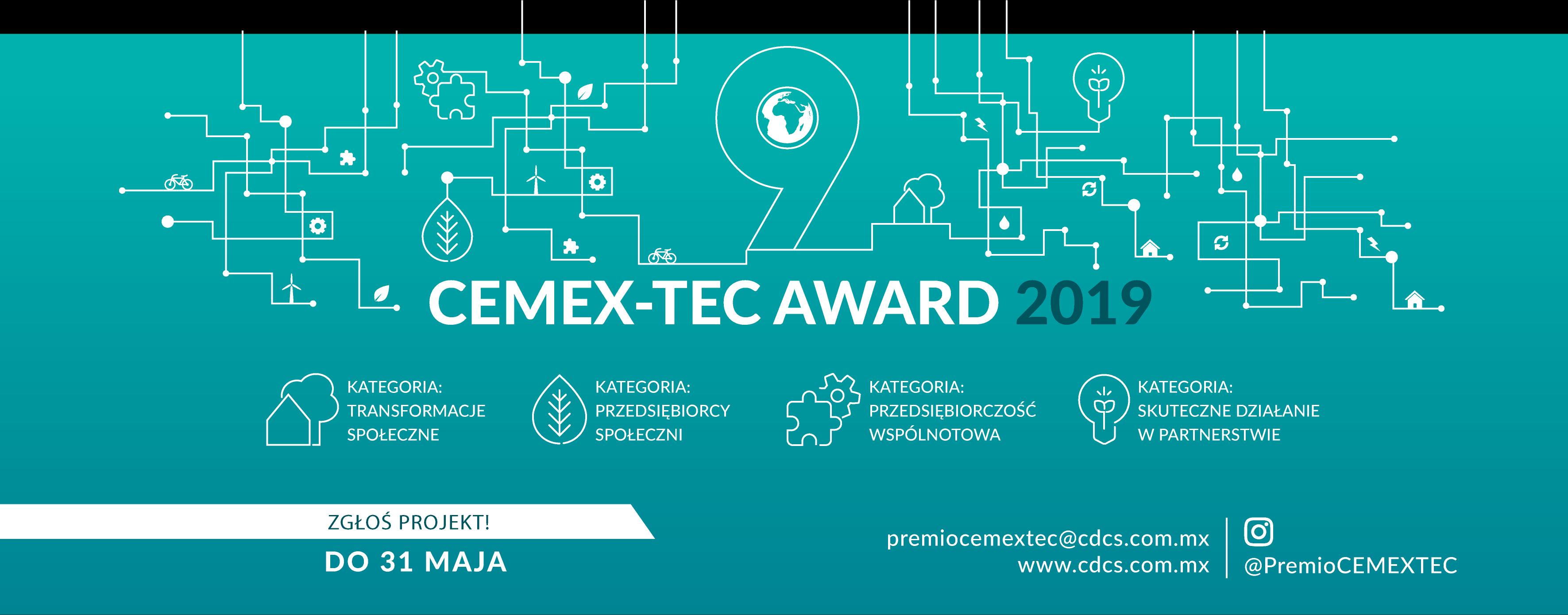 KONKURS CEMEX-TEC AWARD 2019