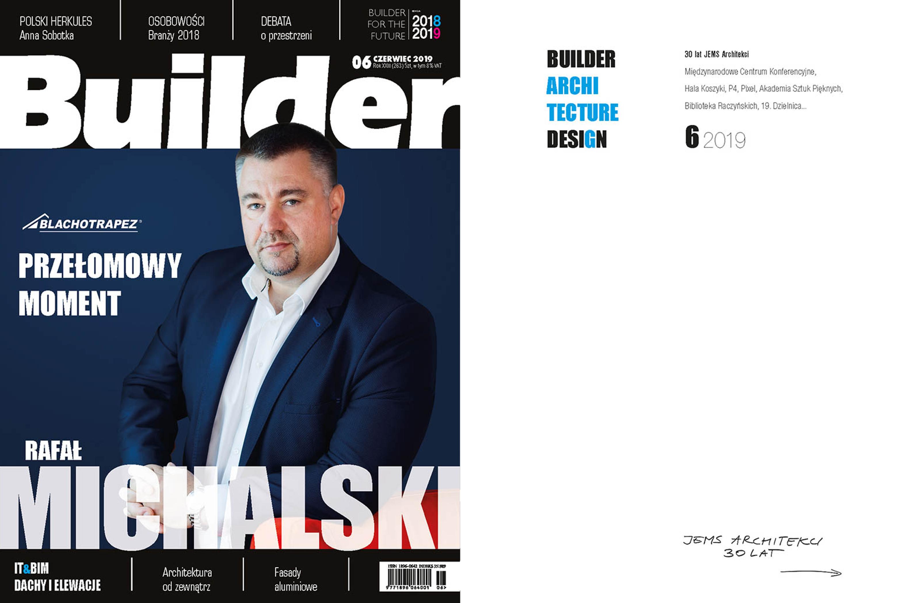BUILDER – CZERWIEC 2019