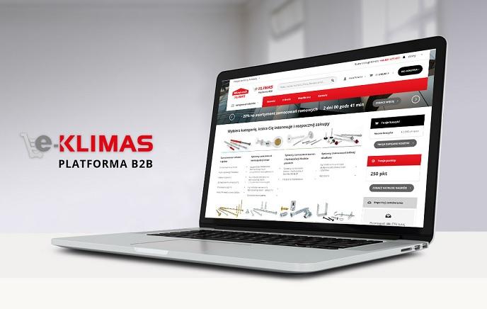 KLIMAS WKRĘT-MET URUCHOMIŁ PLATFORMĘ SPRZEDAŻOWĄ E-KLIMAS.COM