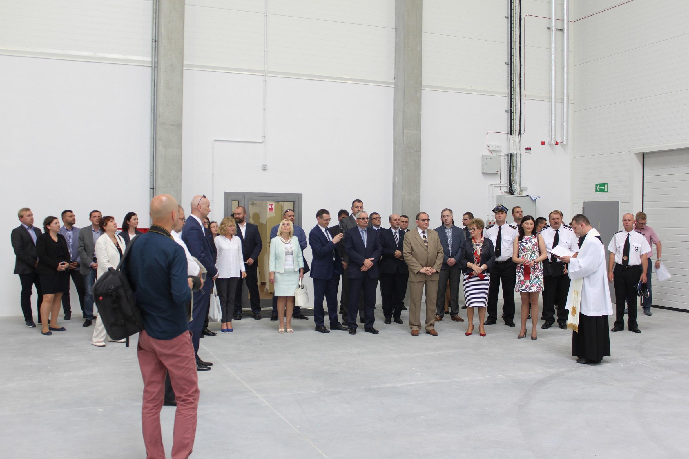 Oddanie do użytku nowej hali włoskiej firmy ILPEA Sp. z o (8)