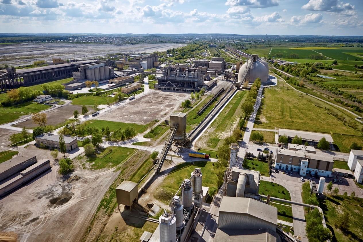 Cementownia w Chełmie