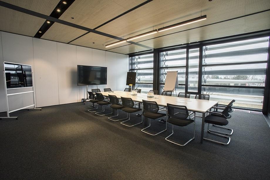 Wnętrze firmy TRUMPF oświetlone przez ES-SYSTEM